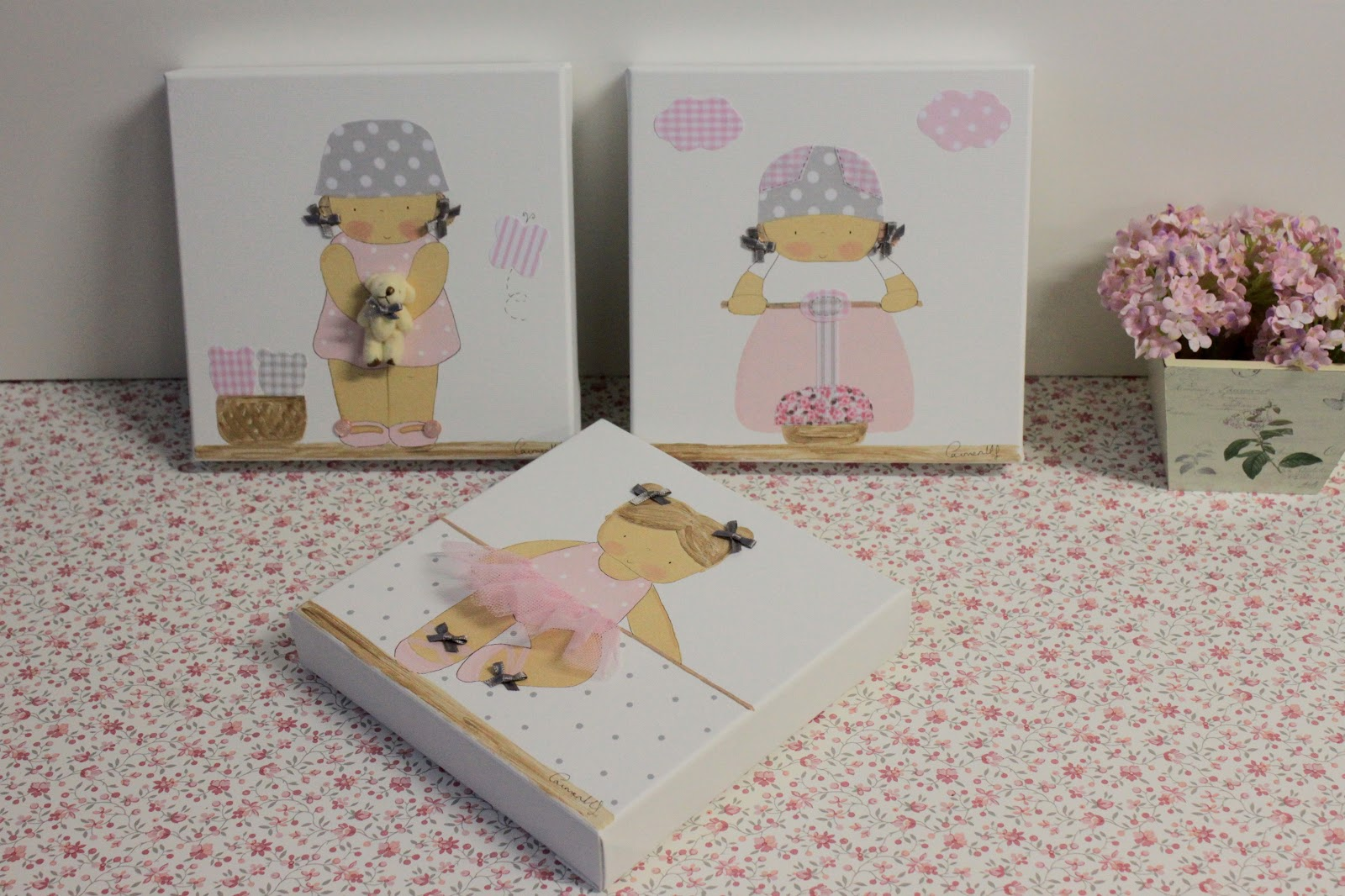 Cuadros infantiles personalizados decoraci n infantil - Cuadros habitacion infantil ...