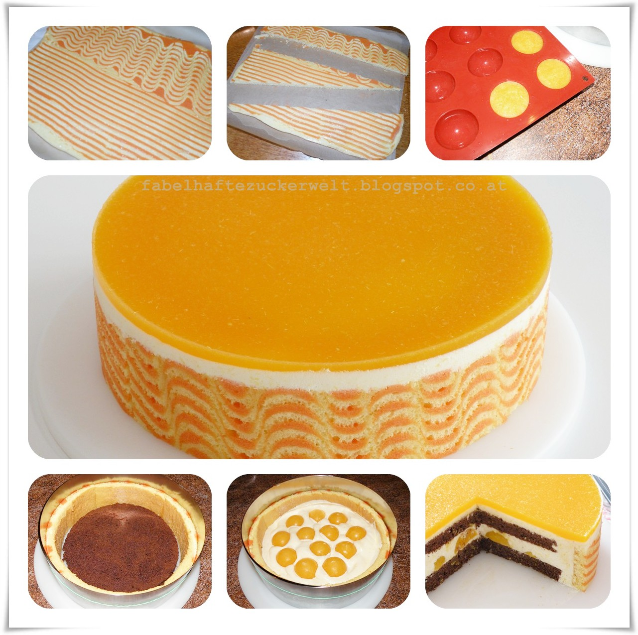 zuckerwelt orangen mandarinen torte. Black Bedroom Furniture Sets. Home Design Ideas