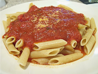Whole Wheat Penne with Marinara