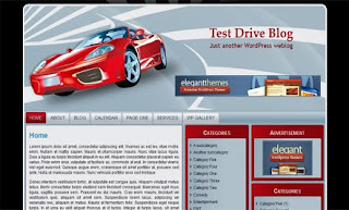 Hot Ride WordPress Template