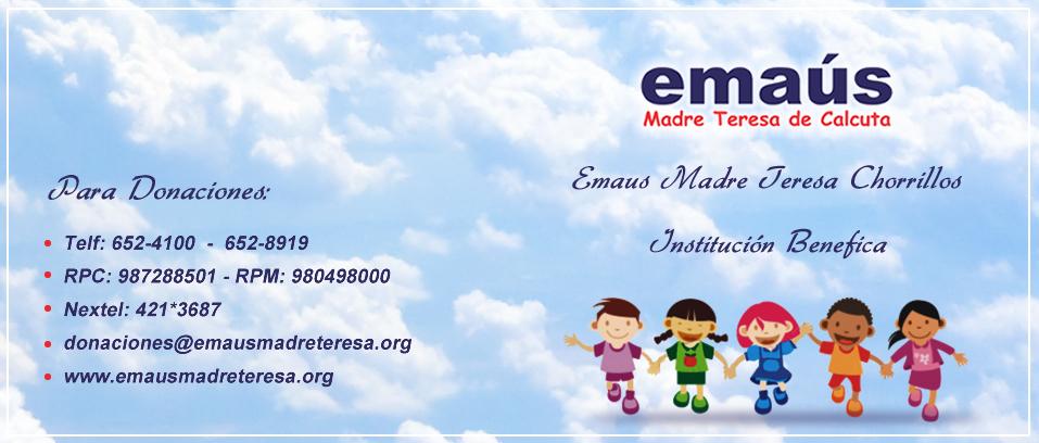 Emaus en Chorrillos - Madre Teresa de Calcuta