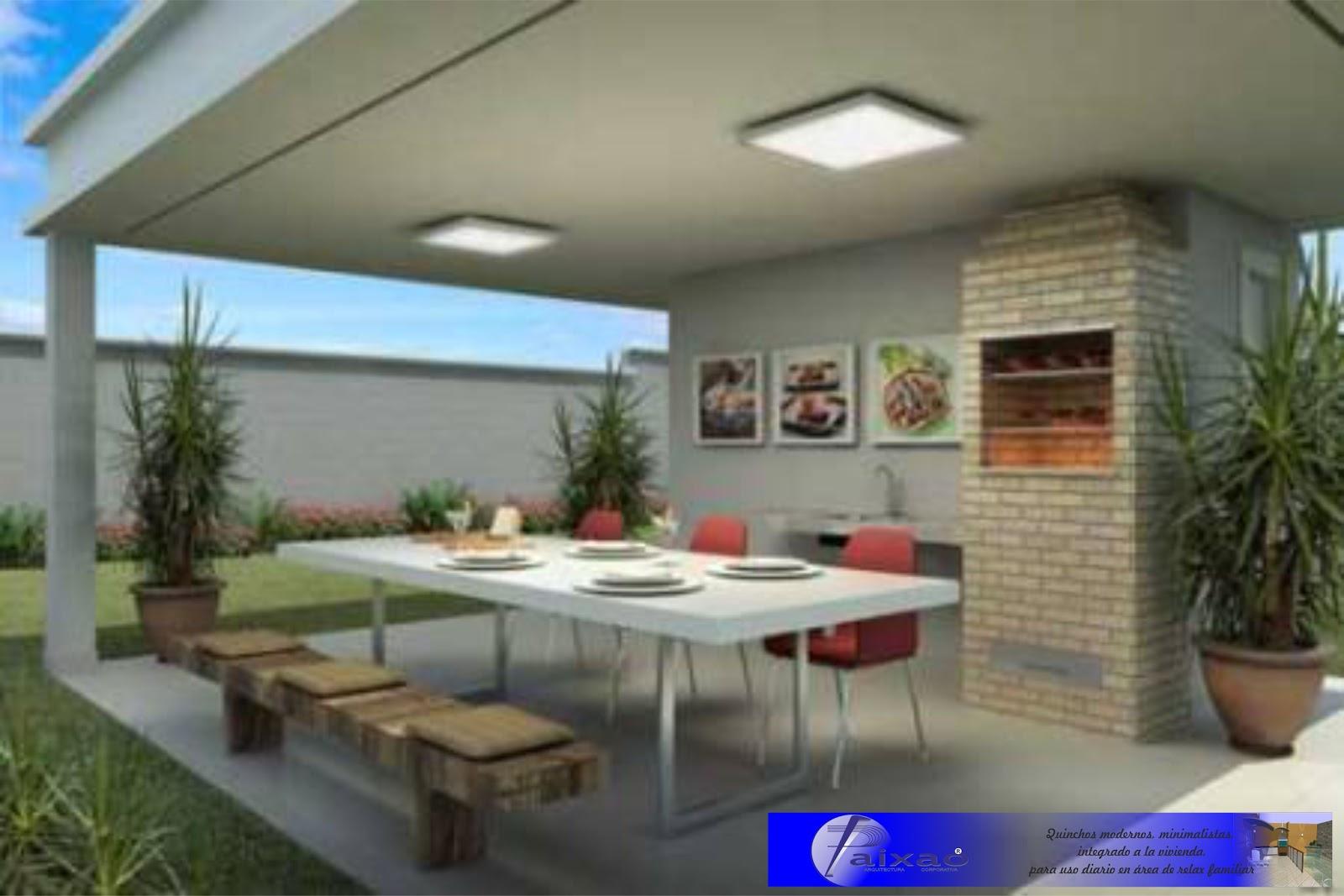 Imagens de #1A19B2 ARA Construcciones en General: QUINCHOS MINIMALISTAS INTEGRADOS Y  1600x1067 px 3684 Banheiros Residenciais Modernos