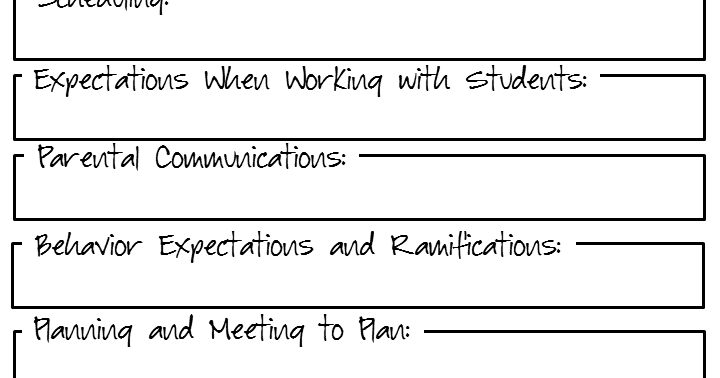 Collaborative Teaching Checklist ~ Free resources teacher collaboration freebie
