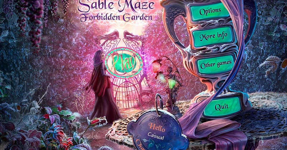 Lighting Games Sable Maze 3 Forbidden Garden Game Download