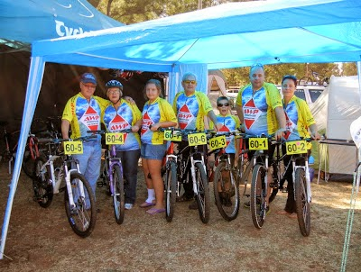mountain bike team from 2012