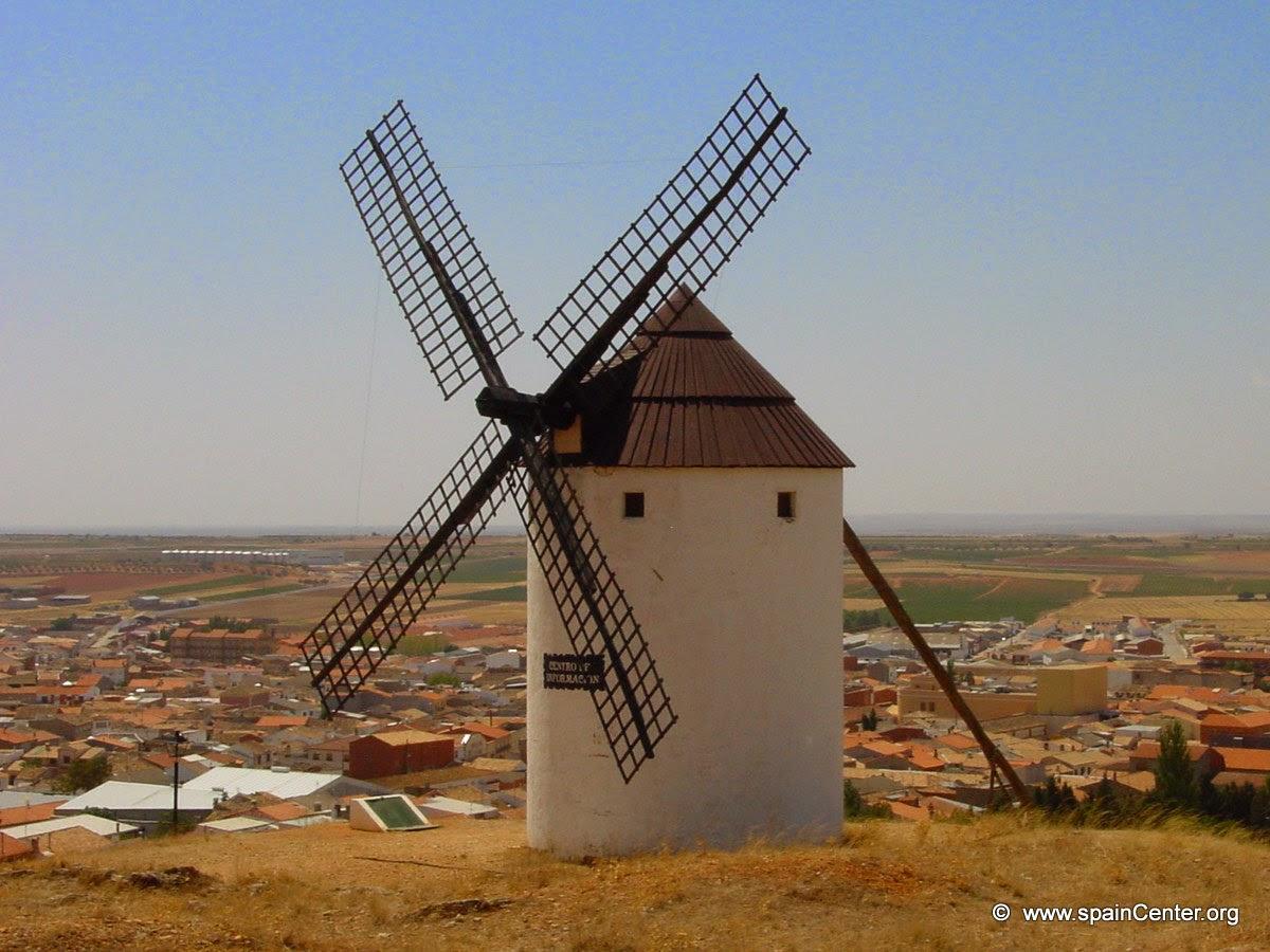Molino de viento for Piscina molino de viento y sombrilla
