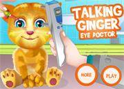 Talking Ginger Eye Doctor