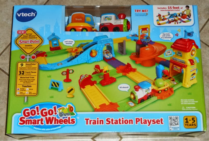 Js Reviews And Giveaways Vtech Go Go Smart Wheels Train Station
