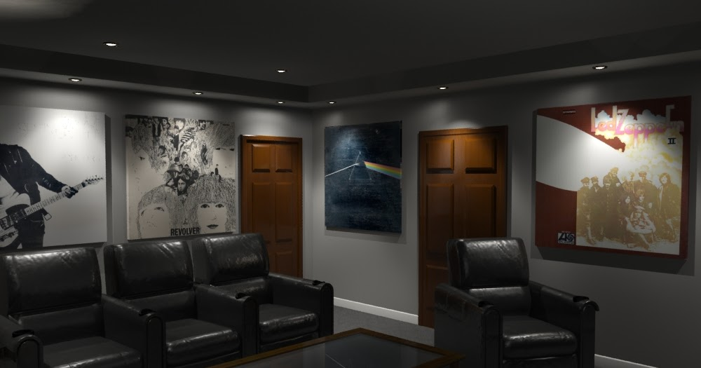 Home Theater Design And Beyond By 3 D Squared Inc Acoustic Panels Featuring Album Art