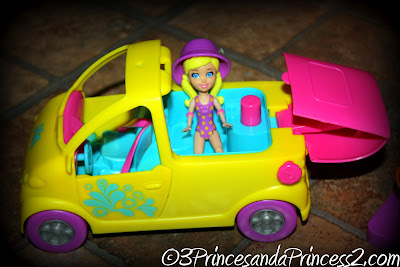 Polly Pocket car set