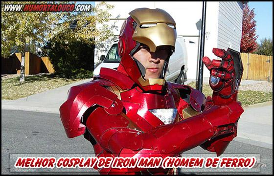 Melhor Cosplay de Iron Man (Homem de Ferro)