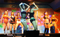 Phuket nightlife and coyote dancing