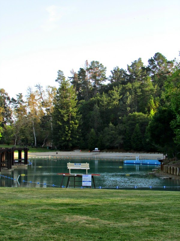 Cull Canyon- Swimming Area at Dusk