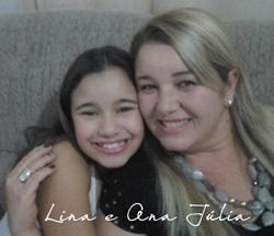 Lina e Ana Júlia