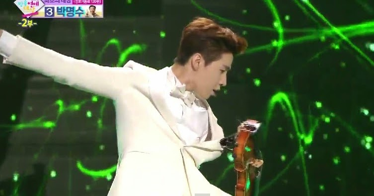 Henry performs Smooth Criminal at MBC Entertainment Awards