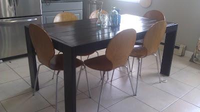 modern farmhouse dining table