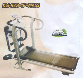Treadmill Magnetic kw 928 Plus Massager