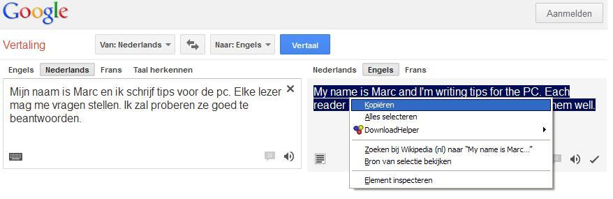 engels nederlands vertaalmachine