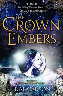 Book Cover The Crown of Emberes by Rae Carson