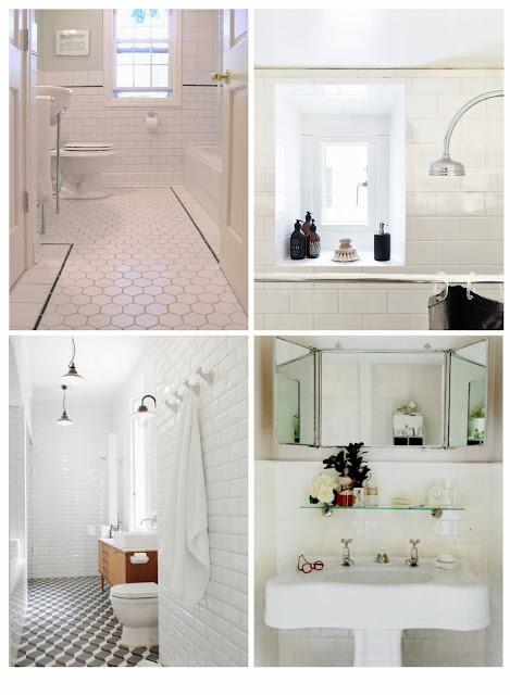 Rose Home Detailing An Art Deco Bathroom