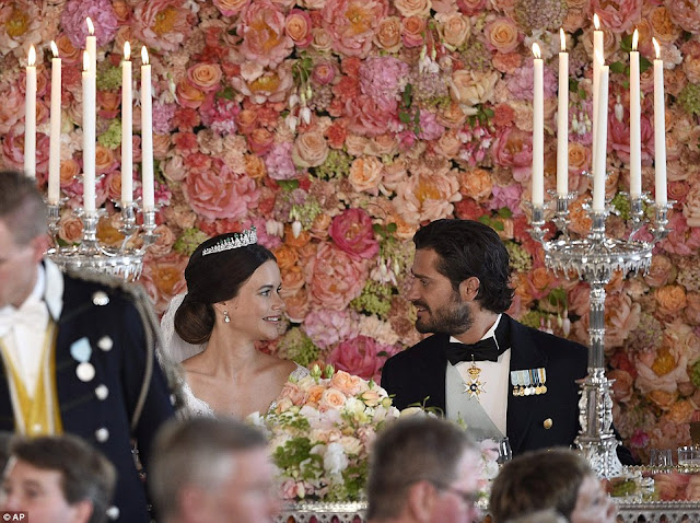 Princess Sofia of Sweden @ Sofia Hellqvist weds Prince Carl Philip in Sweden royal wedding