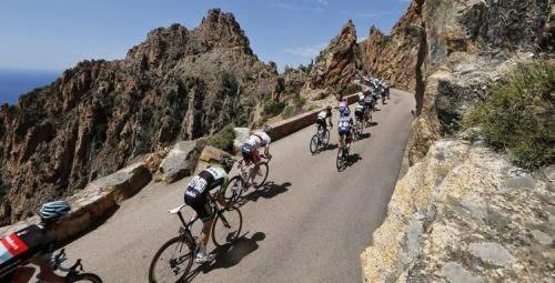 Dernière étape du 100ème Tour de France en Corse