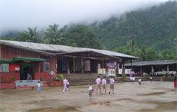 รูป โรงเรียนชุมชนบ้านท่าสองยาง