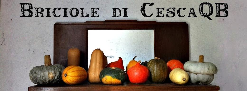 Briciole di Cesca*QB •*´¨`*•.¸¸.•*´(HappyVeganKitchen)`*•.¸¸.•*´¨`*•