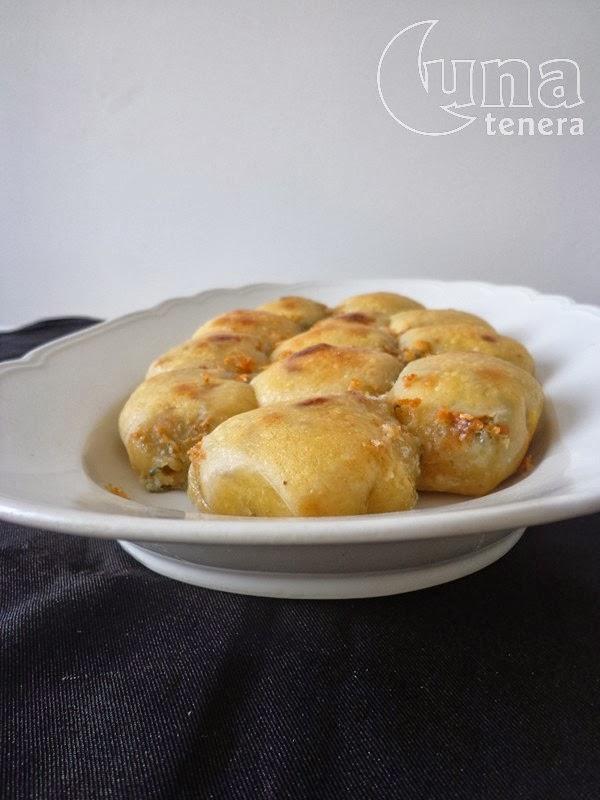 pan brioche con lievito madre, gorgonzola e noci