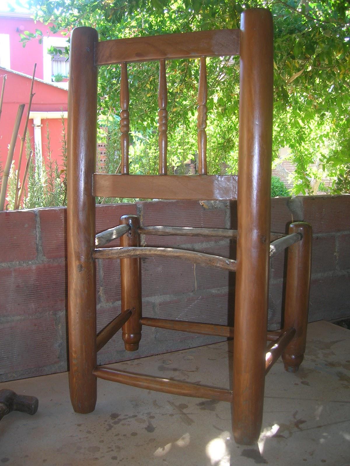 El taller del carpintero silla de coser - Sillas para hacer el amor ...