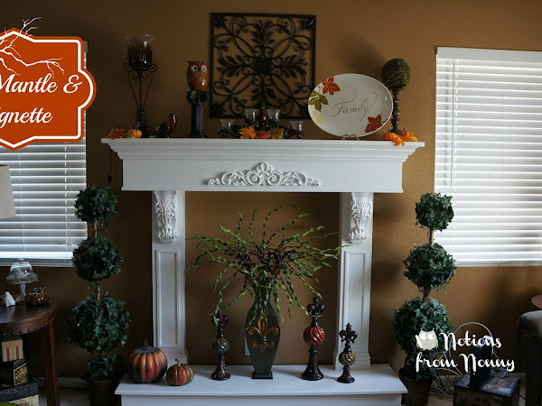 Fall Mantle & Vignette 2013
