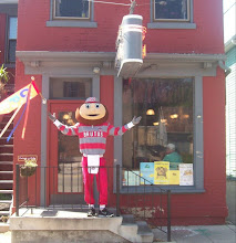 Brutus visits Sam & Ethel's Restaurant