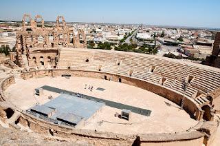 Coliseo de El Djem - Túnez