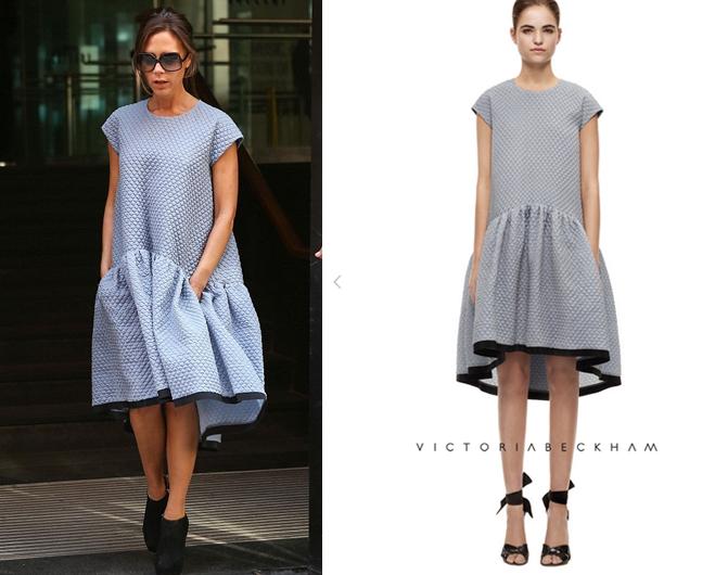 Victoria Beckham Oversized Hem Dress
