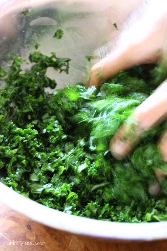 massage kale
