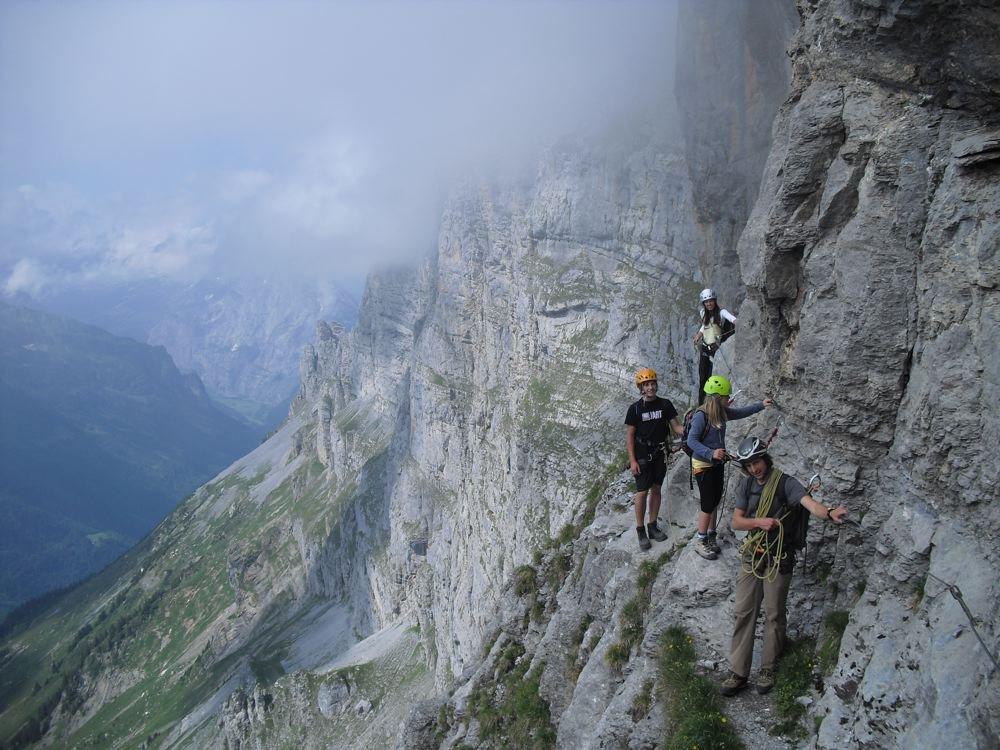 Klettersteig Tälli : Urs baumgartner: juli 2011
