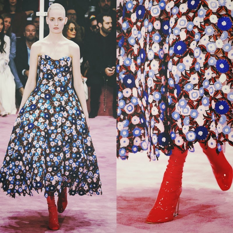 Fashion Runway Christian Dior Haute Couture Spring 2015