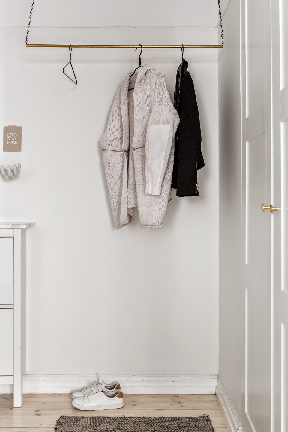 A Love For Grey blog, Scandinavian Interior Design, Scandinavian Hallway