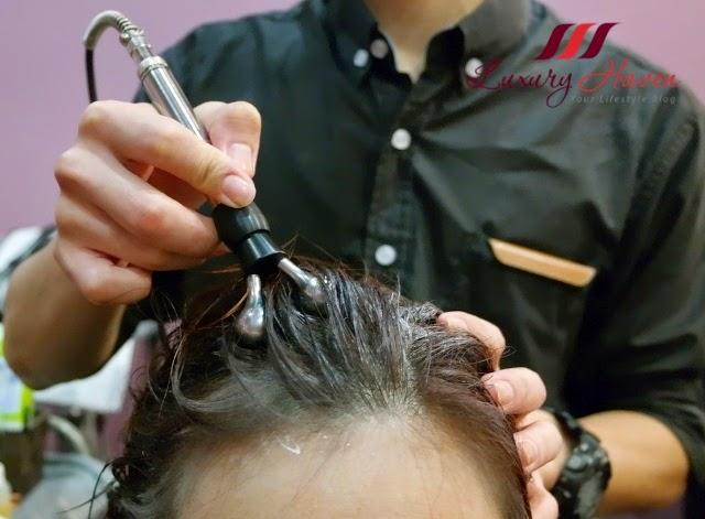 jass hair design galvanic ion iontophoresis scalp review