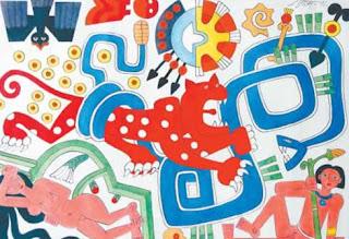 El papel amate actualmente representa la fusión de dos tradiciones indígenas: la Otomí, productores del papel de corteza en la Sierra Norte de Puebla y la Nahua