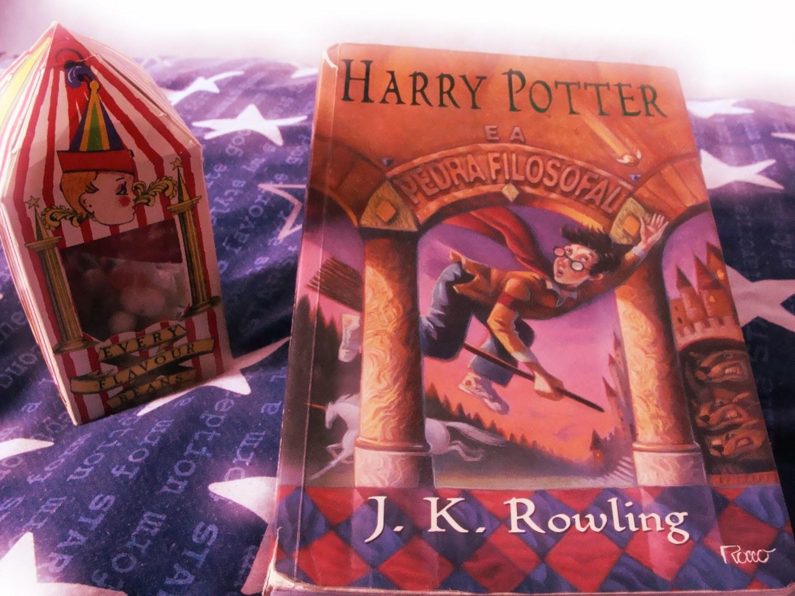 Harry Potter É A Pedra Filosofal inside chocolate box: relendo harry potter e a pedra filosofal