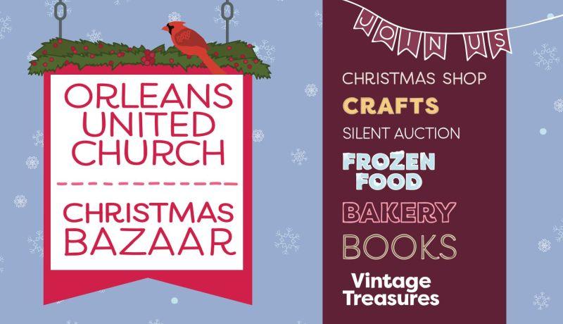 Orleans United Church Christmas Bazaar