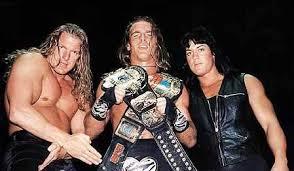 Triple H HBK Rick Rude Attitude Era Chyna WWF European Champion Two Words