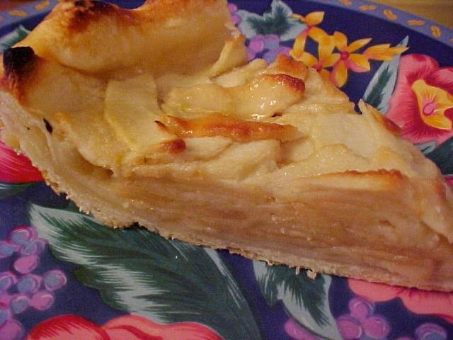 Tarte feuillantine aux pommes
