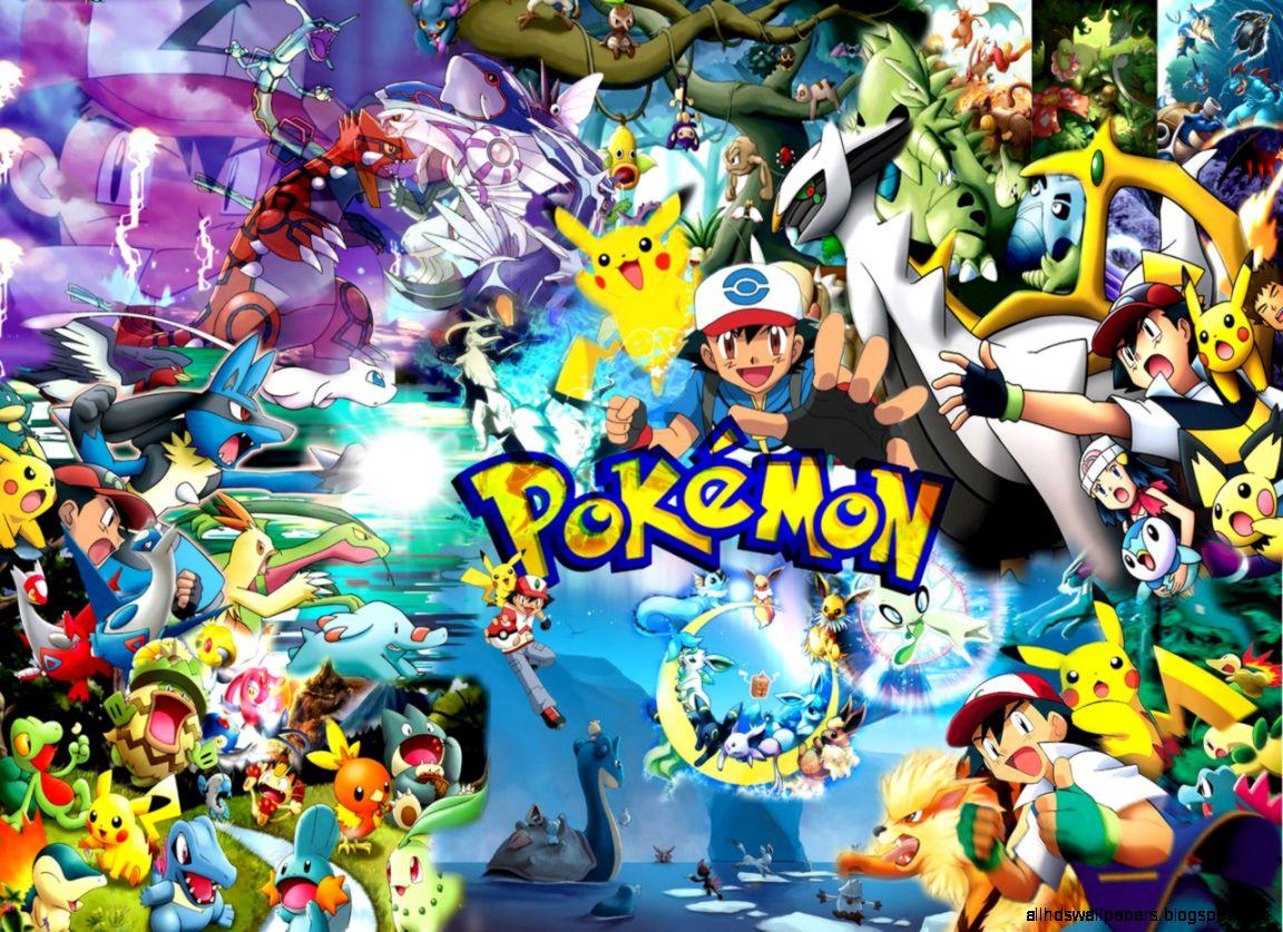Pokemon Wallpaper All Characters
