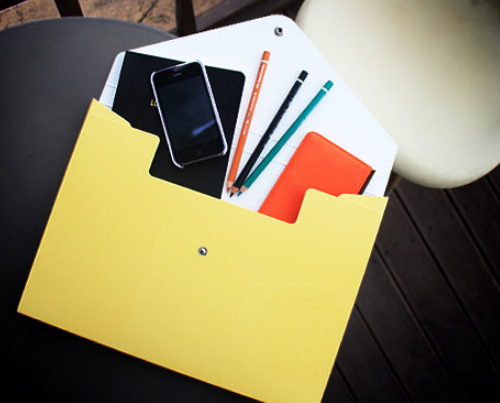Paper Briefcase A4 File Box Case
