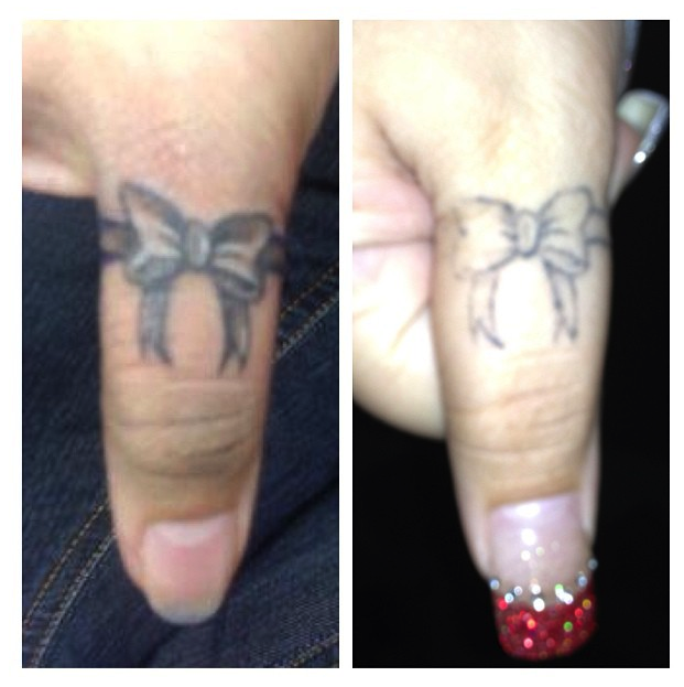 Finger Tattoo Healed