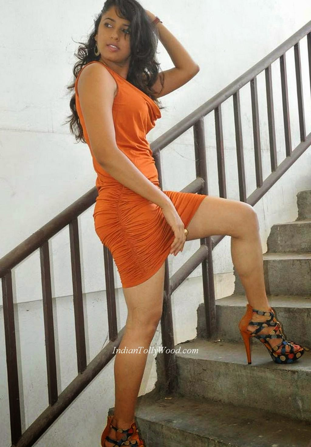 telugu actress legs hot