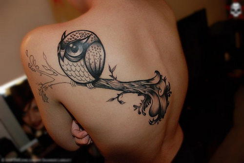 Owl+tattoos+meaning