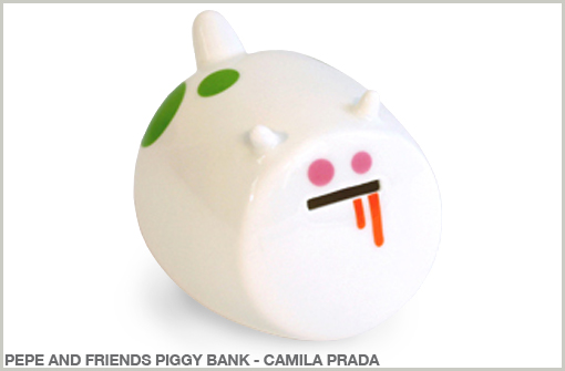 PEPE AND FRIENDS PIGGY BANK - CAMILA PRADA